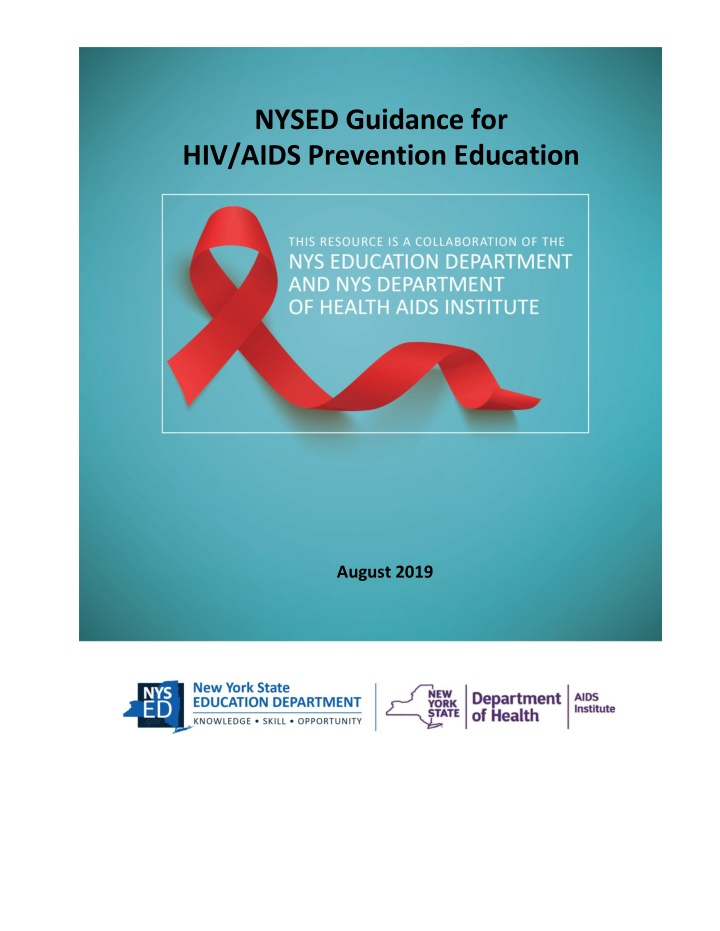 nysed guidance for hiv aids prevention education