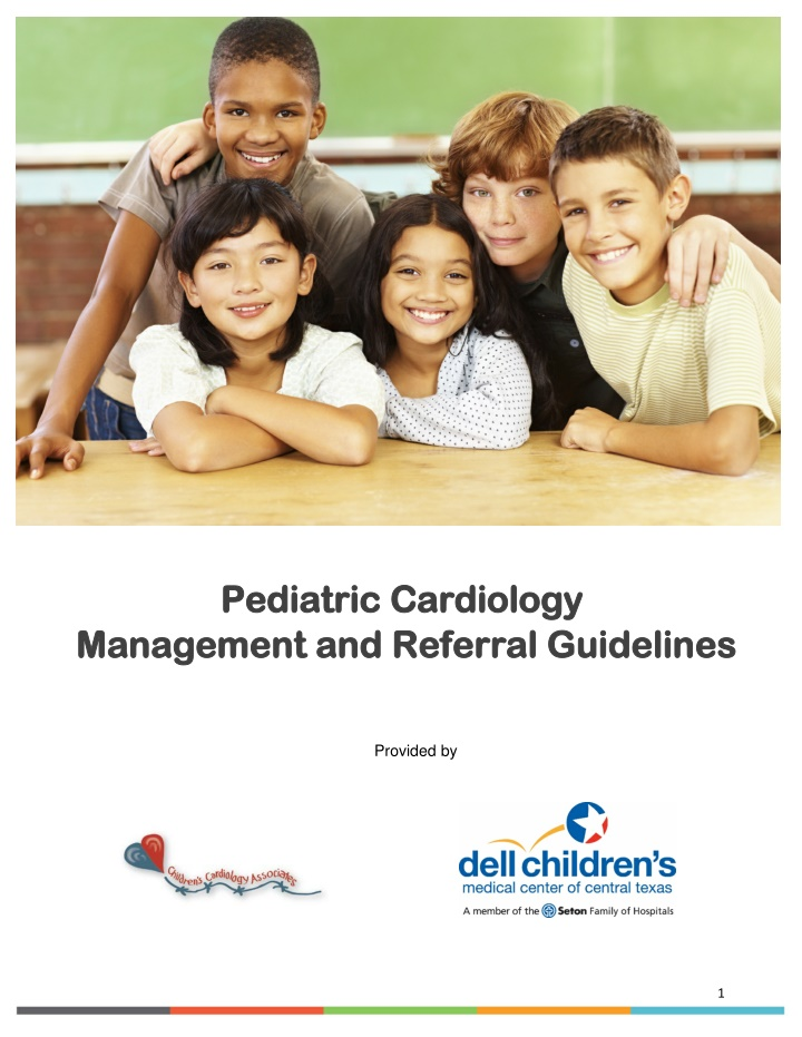 pediatric cardiology management and referral