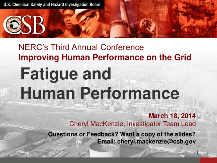 nerc s third annual conference improving human