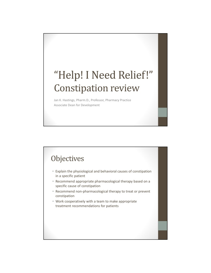 help i need relief constipation review