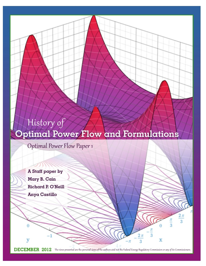 history of optimal power flow and formulations