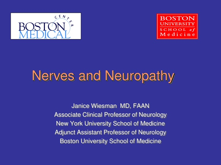 nerves and neuropathy