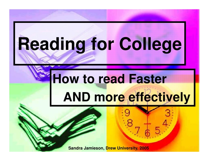 reading for college