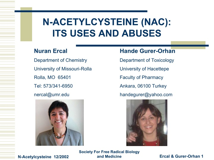 n acetylcysteine nac its uses and abuses
