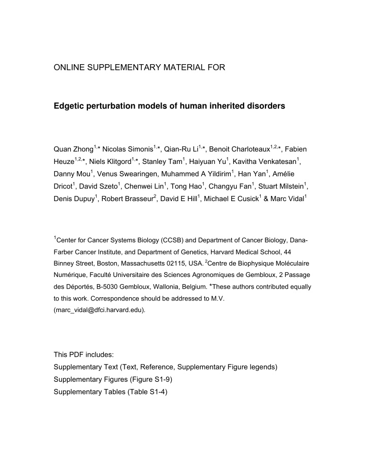 online supplementary material for