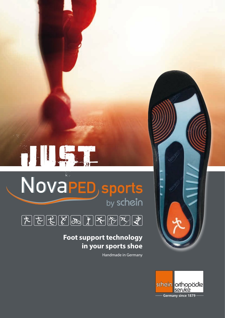foot support technology in your sports shoe