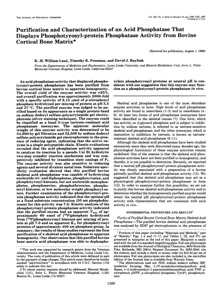 the journal of biological