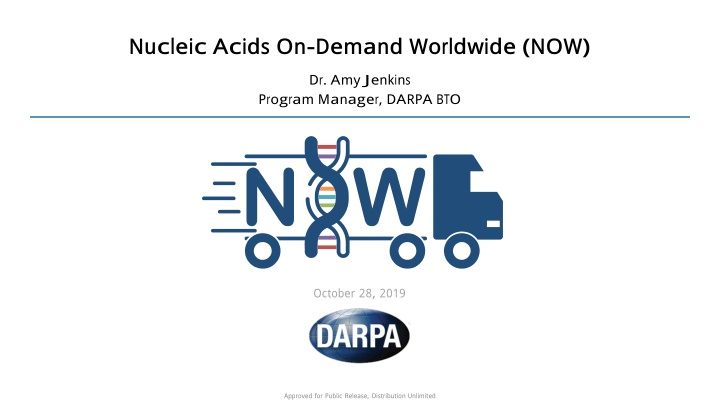 nucleic acids on demand worldwide now