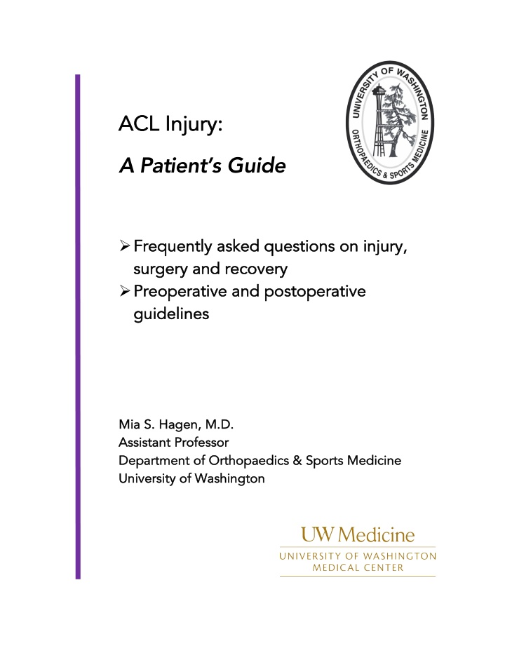 acl injury acl injury