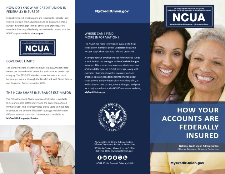 how do i know my credit union is federally insured