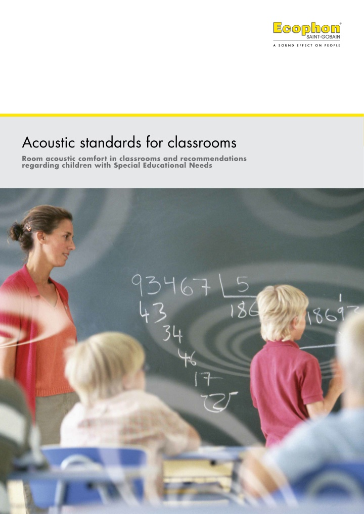 acoustic standards for classrooms room acoustic
