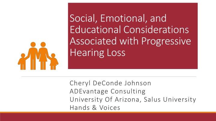 social emotional and educational considerations