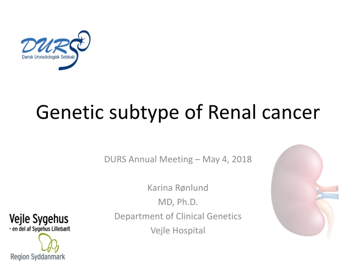 genetic subtype of renal cancer