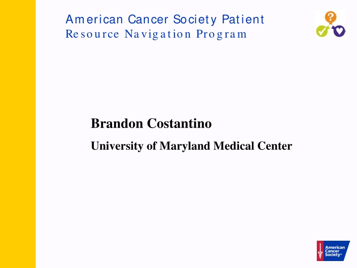 american cancer society patient resource