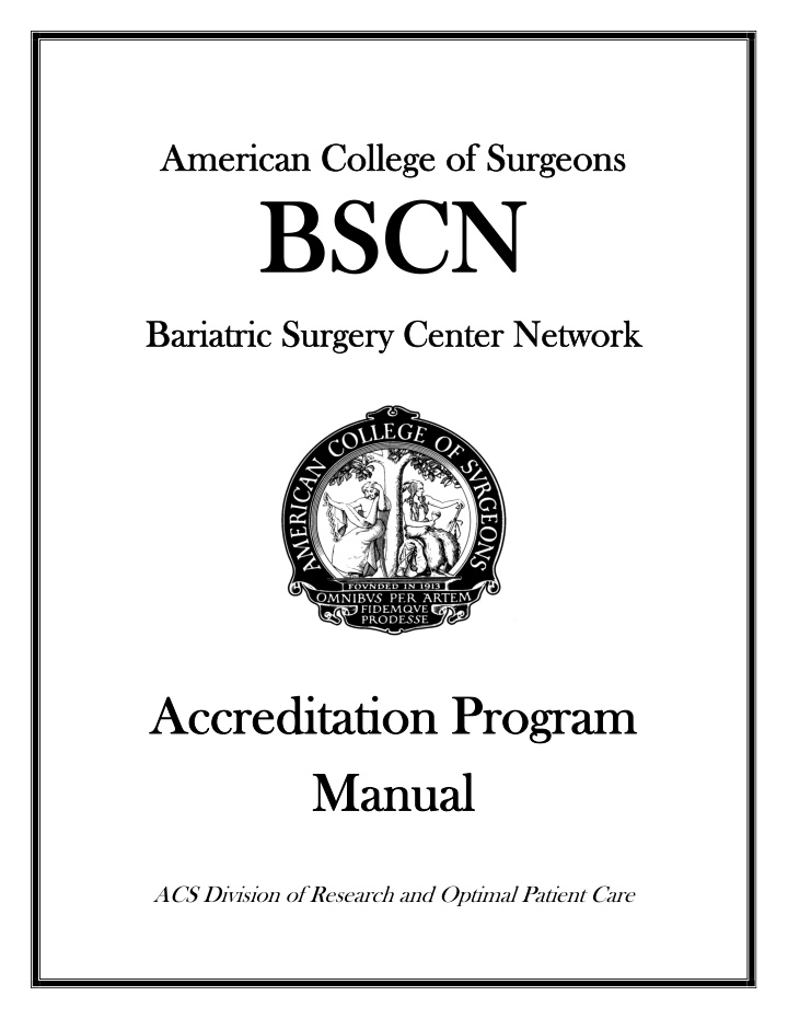 american college of surgeons american college