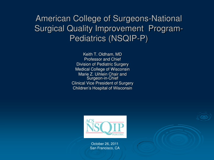 american college of surgeons national surgical