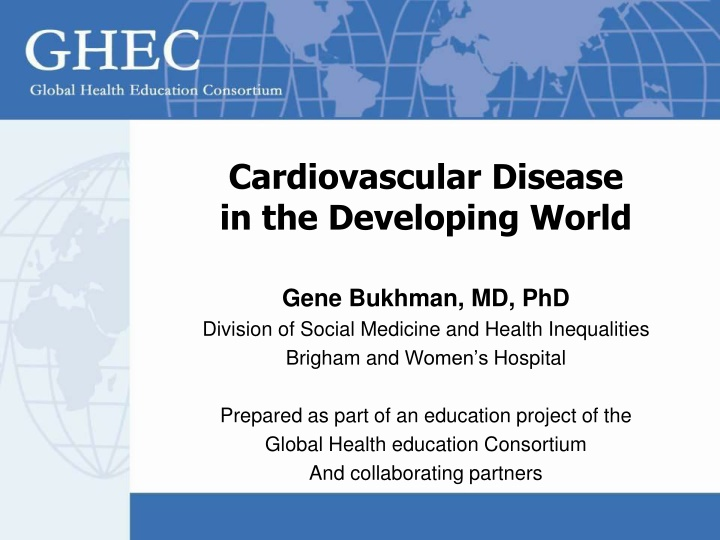 cardiovascular disease in the developing world