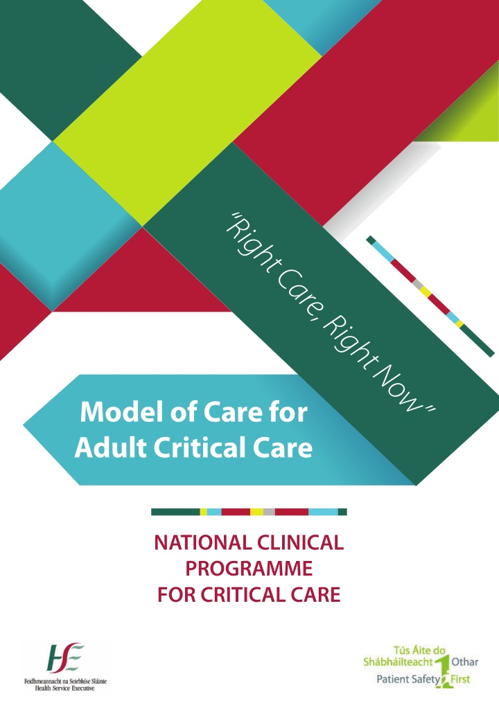 national clinical programme for critical care