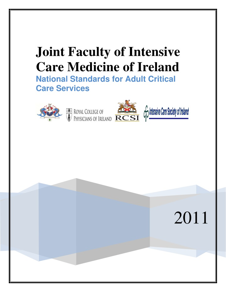 joint faculty of intensive care medicine