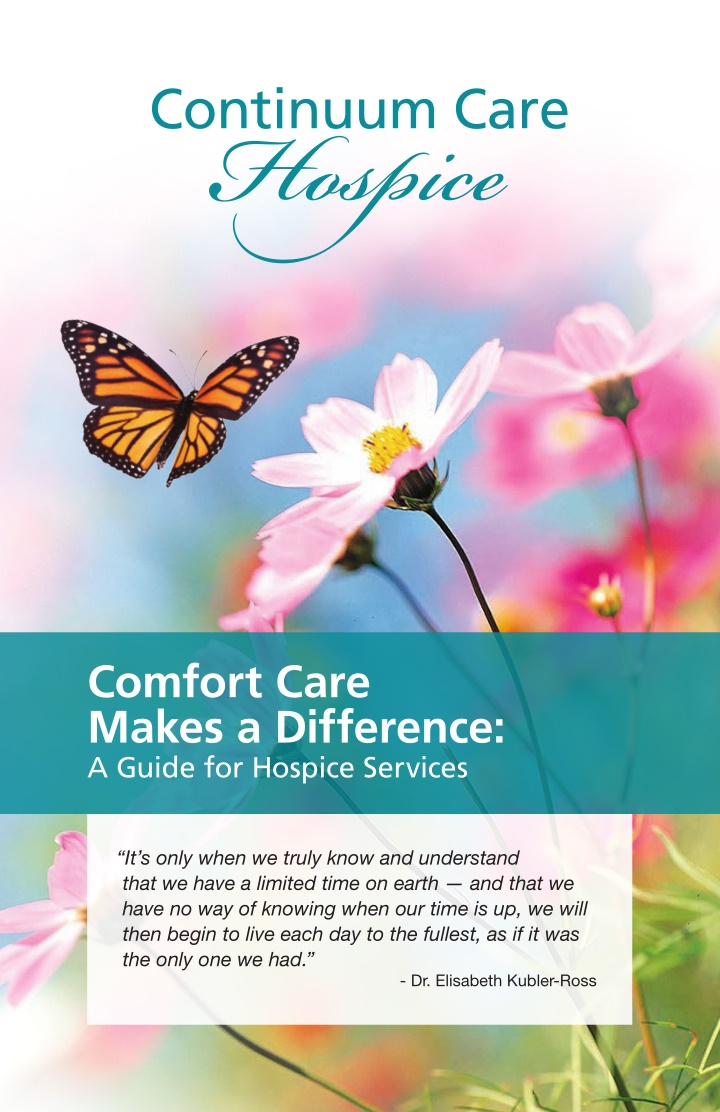 comfort care makes a difference a guide