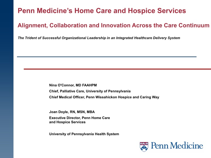 penn medicine s home care and hospice services