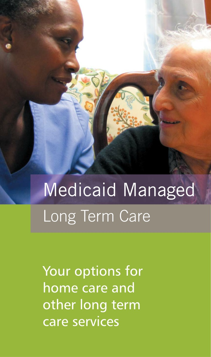 medicaid managed long term care