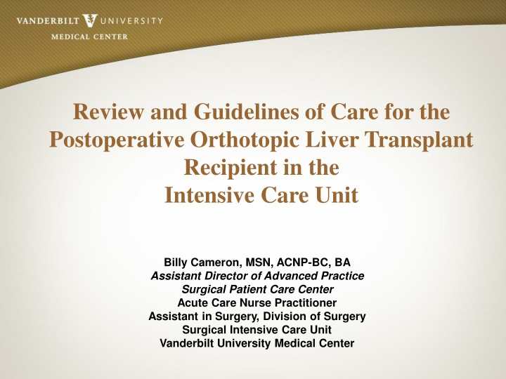 review and guidelines of care