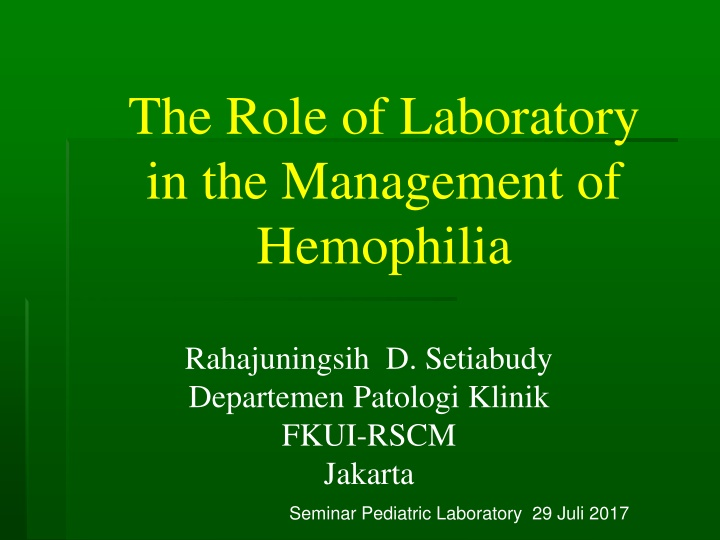 the role of laboratory in the management