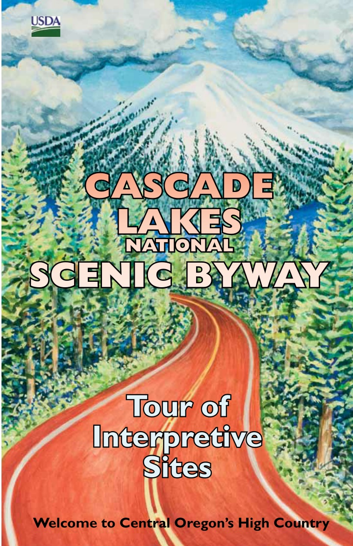 cascade lakes national scenic byway