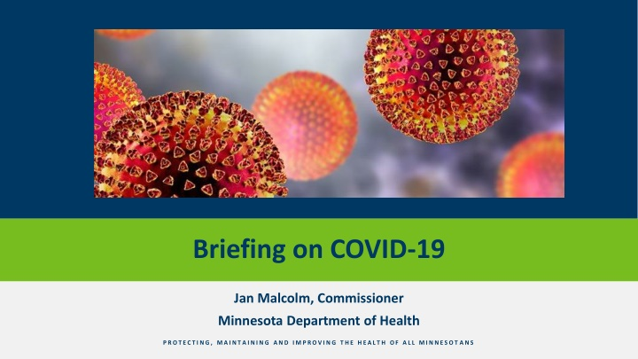 briefing on covid 19