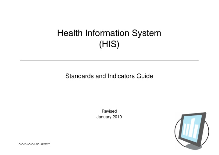 health information system his standards