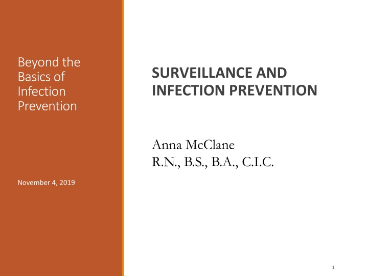 beyond the basics of infection prevention