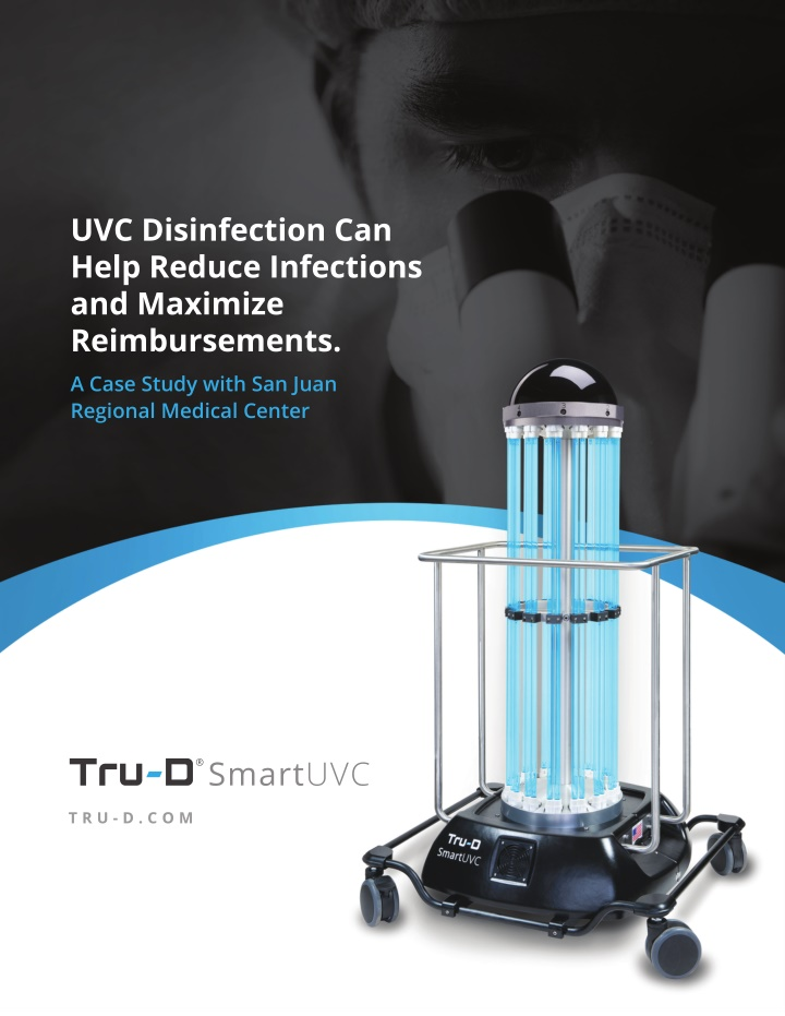 uvc disinfection can help reduce infections