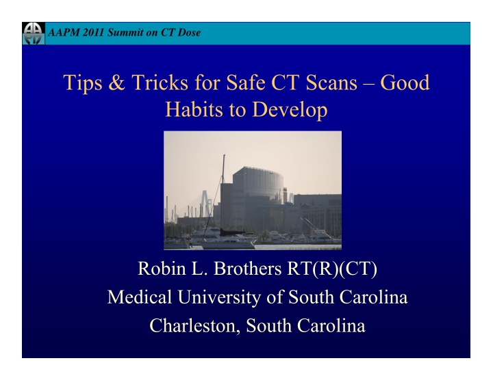 aapm 2011 summit on ct dose