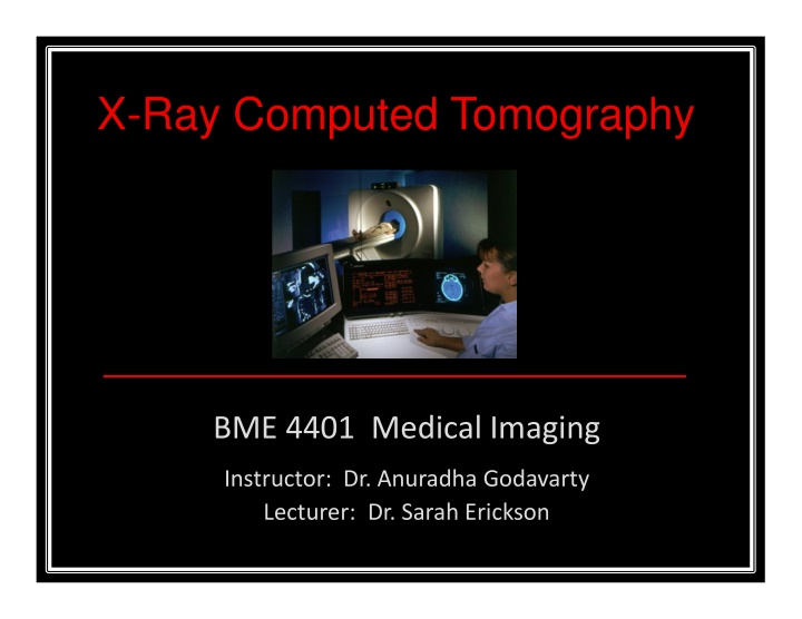 x ray computed tomography
