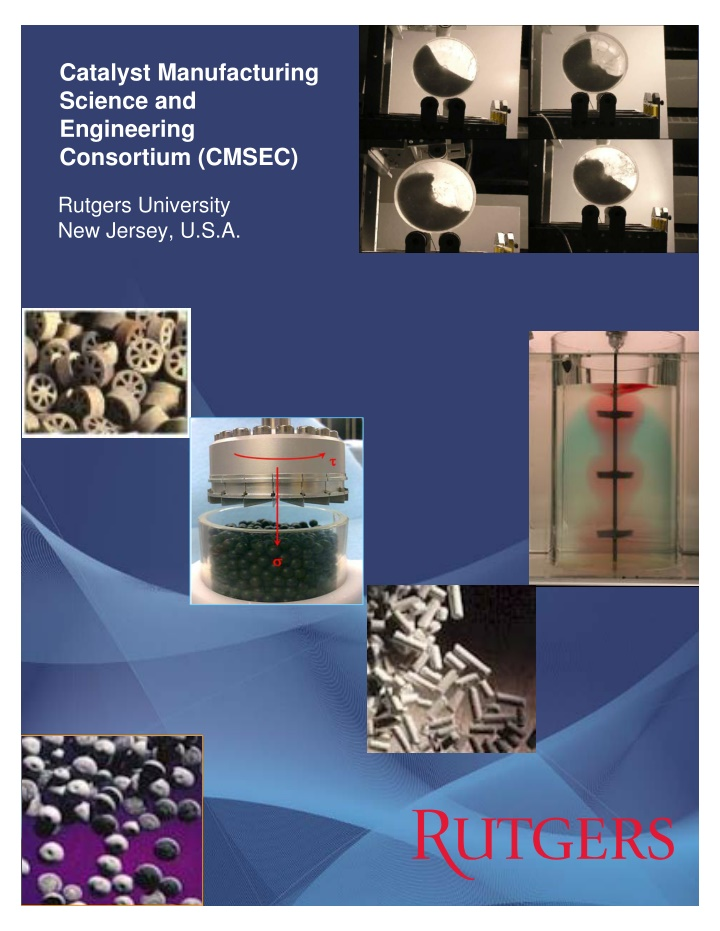 catalyst manufacturing science and engineering
