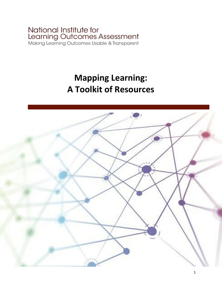 mapping learning a toolkit of resources