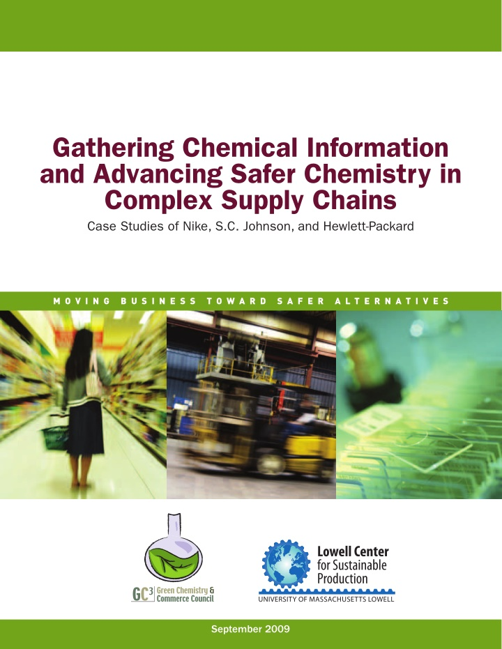 gathering chemical information and advancing