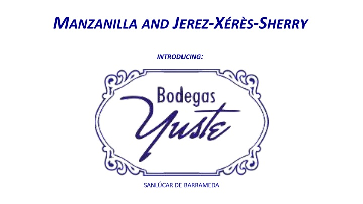 m anzanilla and j erez x r s s herry introducing