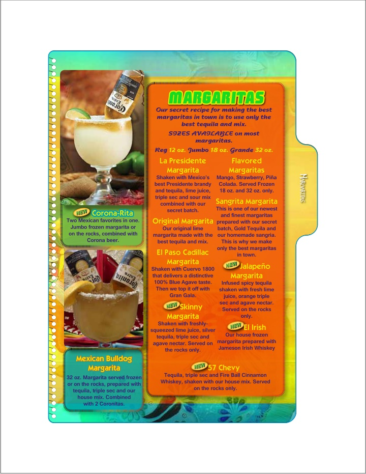 margaritas our secret recipe for making the best