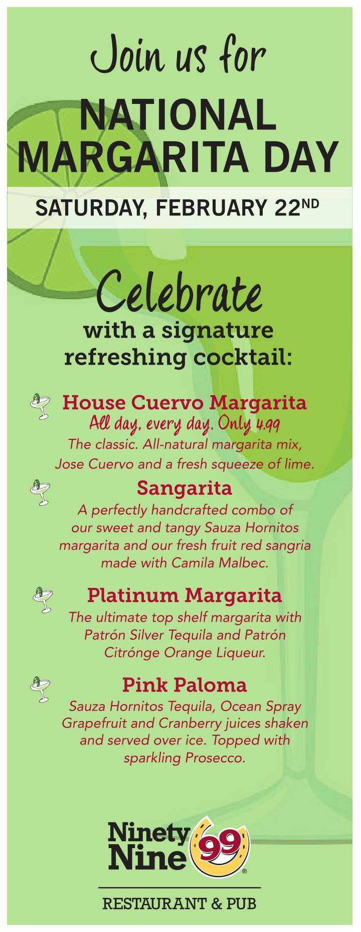 join us for national margarita day