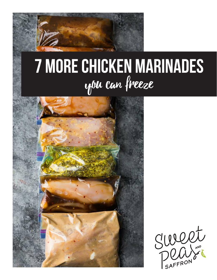 7 more chicken marinades you can freeze