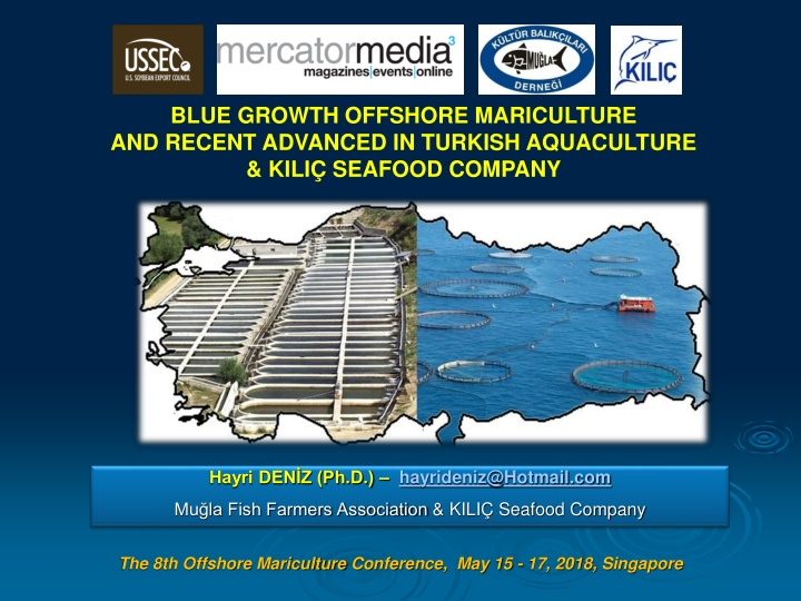 blue growth offshore mariculture and recent