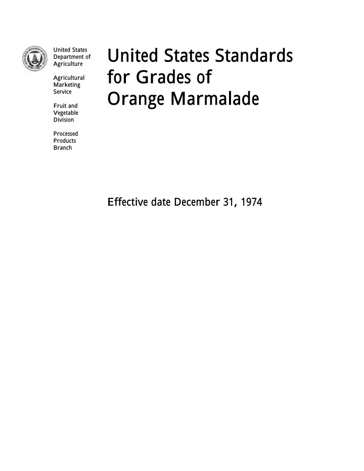 united states standards for grades of orange