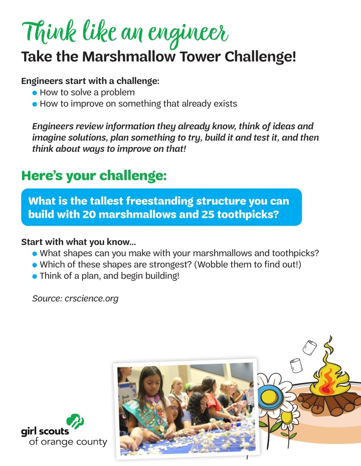 think like an engineer take the marshmallow tower