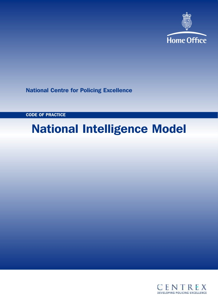 national centre for policing excellence