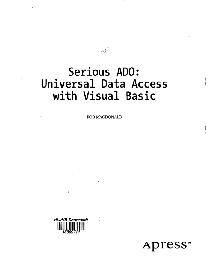 serious ado universal data access with visual