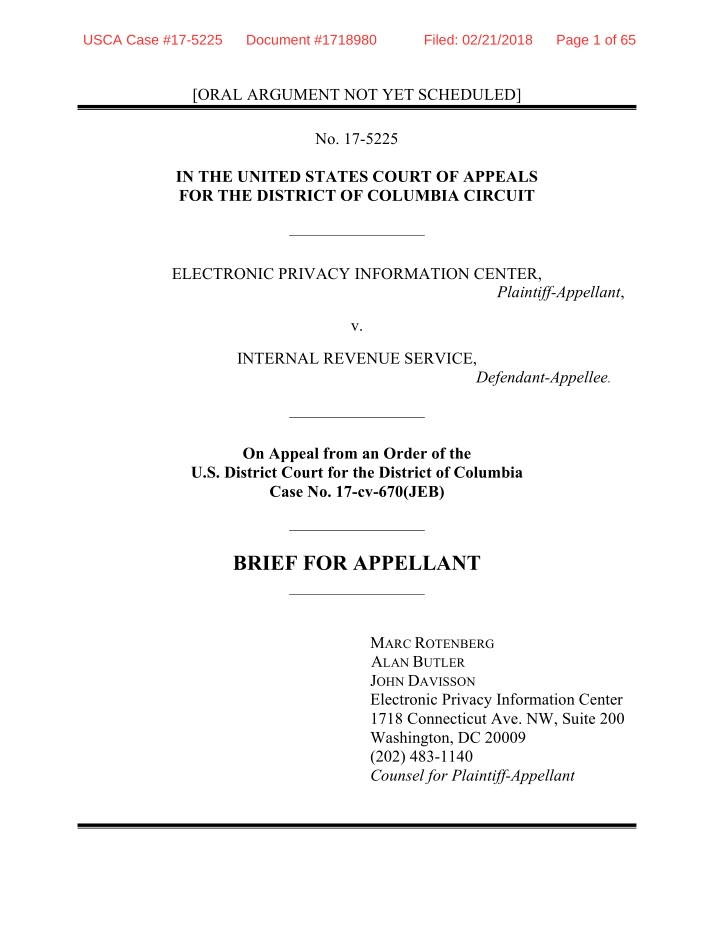 usca case 17 5225 document 1718980 filed