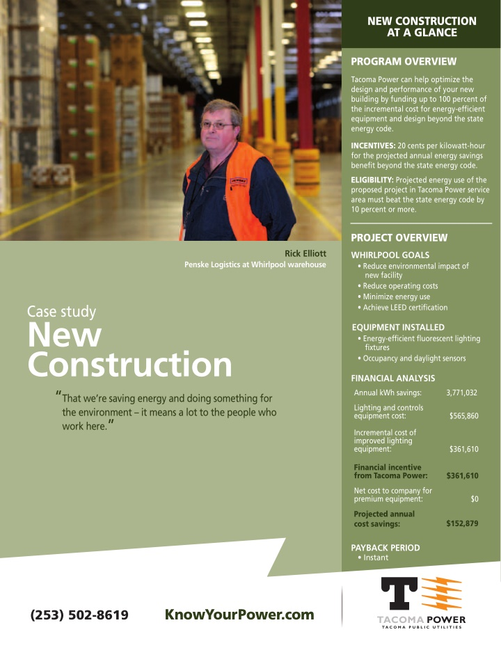 new construction at a glance