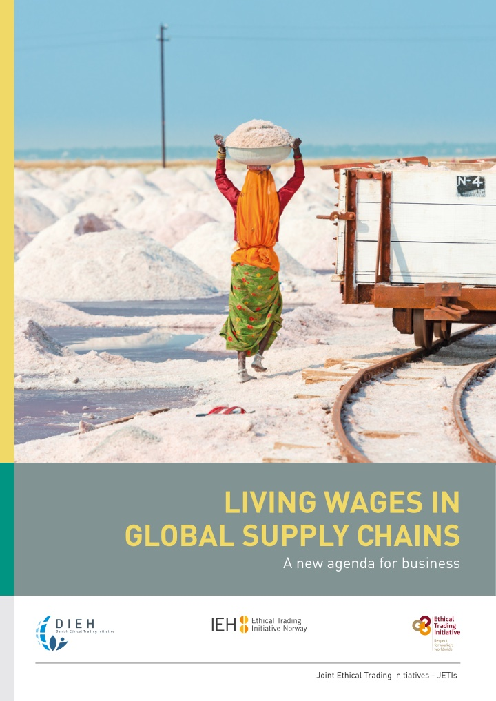 living wages in global supply chains a new agenda